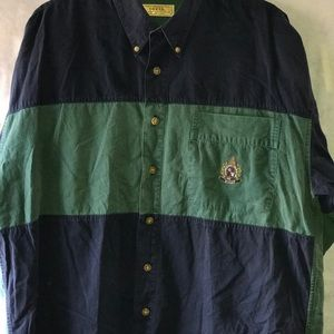 Guess button-down long sleeve shirt
